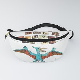 Pterodactyl play on words Fanny Pack