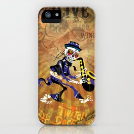 Winston - Sax. The Twitch Doctors iPhone Case
