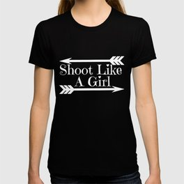 Archery Girl - Quote T-shirt