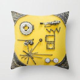 033: Voyager - 100 Hoopties Throw Pillow