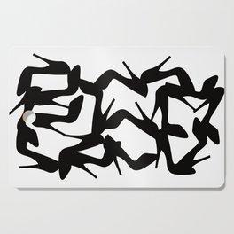 Shoe Fetish (Version 2) High Heel Shoe Art Cutting Board