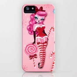 Christmas Sugar Doll iPhone Case
