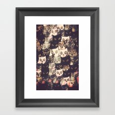 cat-286 Framed Art Print