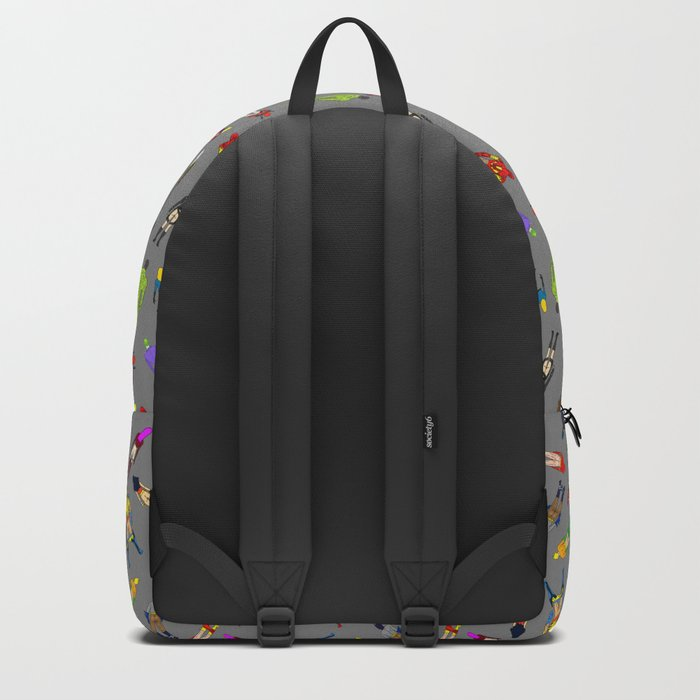 Butt of Superhero Villian - Dark Backpack