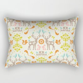 medallion folklore Rectangular Pillow