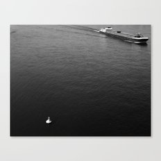 On the Rhein Canvas Print