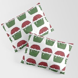 Christmas cupcakes Pillow Sham