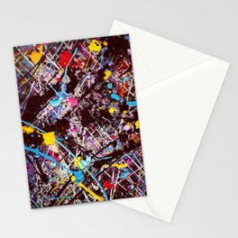 Paint Party Stationery Cards