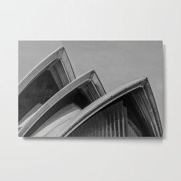 Sydney Opera House Sails Metal Print
