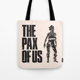 The PAX of Us Black Tote Bag