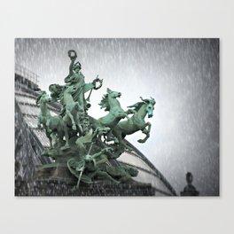 Immortality In The Rain Canvas Print