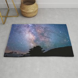 The Night Sky II - glowing stars Rug