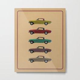 Five Studebakers Metal Print