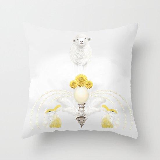 Lesser Throw Pillow