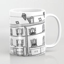 Street Corner in Le Mans, France Coffee Mug