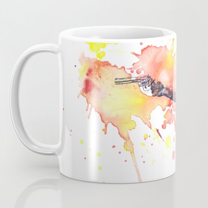 Portrait of Rick Grimes from The Walking Dead Coffee Mug