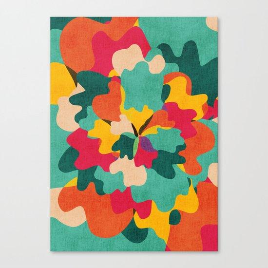 Aloha Camo Canvas Print