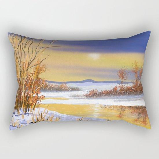 Winter 3 Rectangular Pillow