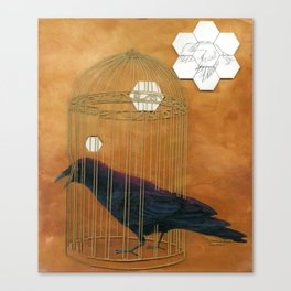 Caged Bird Canvas Print