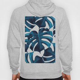 Tropical Monstera Leaves Dream #8 #tropical #decor #art #society6 Hoody