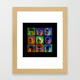 Horror Pop Framed Art Print