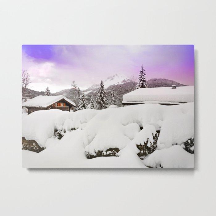 Winter's magic Metal Print