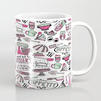 kitchen Mugs featuring Kitchen by Beatriz Sanches