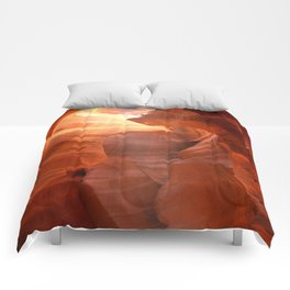 Magical Antelope Canyon Comforters