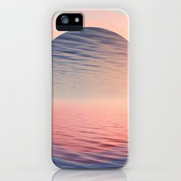 Moments of Tranquil iPhone Case