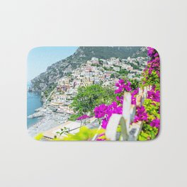 Positano, Amalfi Coast, Italy Bath Mat
