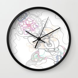 Escape from the Chrysalis Wall Clock