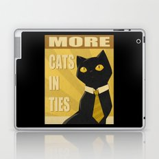 Cats in Ties - PSA Laptop & iPad Skin