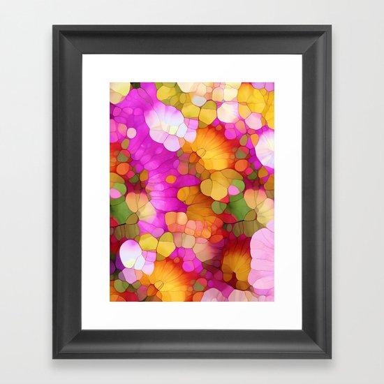 Happy Colors - Soul Vitamins Framed Art Print