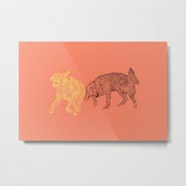 Amigueros Metal Print