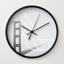 Stiletto in San Francisco Wall Clock