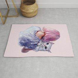 Pink Cuddles Rug