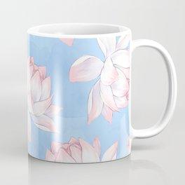 Beautiful Flower Watercolor Pattern Coffee Mug