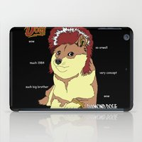 doge iPad Cases featuring Diamond Doge by merimeaux
