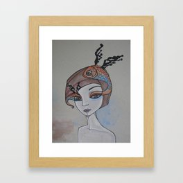 fish eye Framed Art Print
