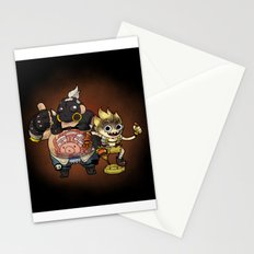Roadhog & Junkrat Stationery Cards