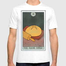 The Rising Dough | Baker's Tarot T-shirt