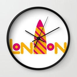 London 2 Wall Clock