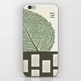 Space and Light and Order Quote #1 iPhone Skin
