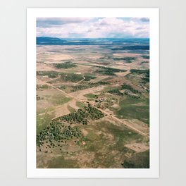 Above Colorado Art Print