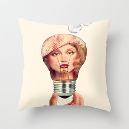 The value of ideas Throw Pillow