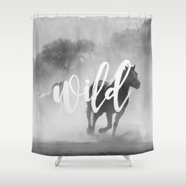 MANTRA SERIES: Wild Shower Curtain