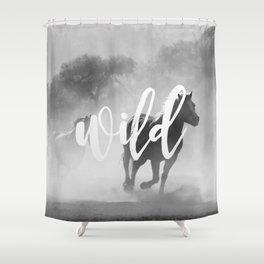 MANTRA SERIES: Wild Shower Curtain