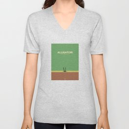 Alligator Unisex V-Neck