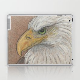 Bald Eagle Portrait Study Laptop & iPad Skin