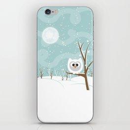 Arctic Owl iPhone Skin